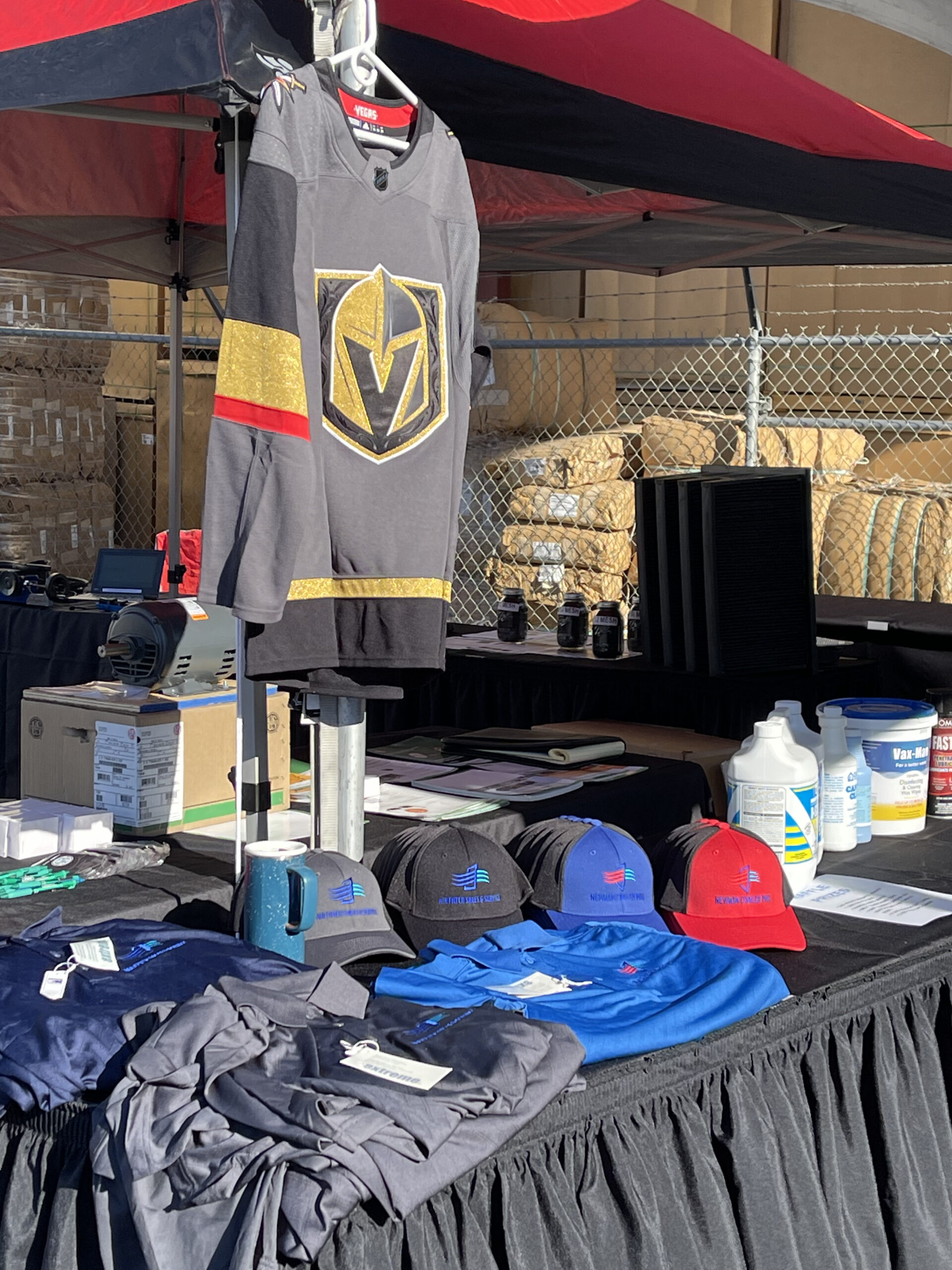 Vegas Golden Knights Jersey and logo's items for Spring 2021 event